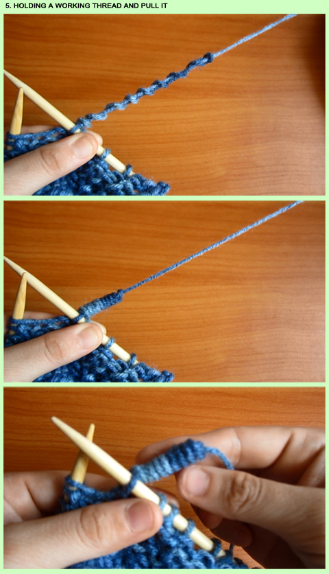 How to  Spring Knitting Stitch