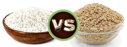 Tanto el arroz integral como el arroz blanco son buenos para tus músculos