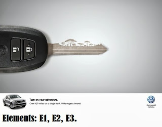 print ad marketing of volkswagen