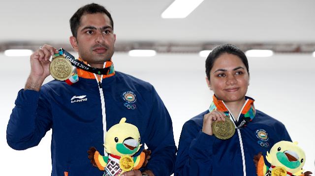 एशियाई खेल 5 दिन लाइव अपडेट शारदुल विहान डबल ट्रैप सिल्वर जीता; कबड्डी में कांस्य