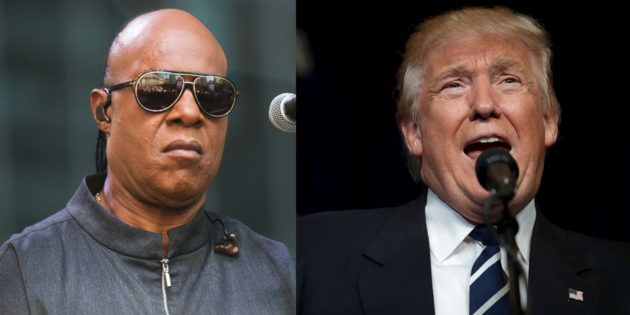 Voting For Trump Is Like Asking Me To Drive - Stevie Wonder