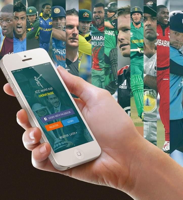 Cricket Live iOS APP UI