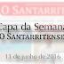Capa de 'O Santarritense' - 11 de junho de 2016