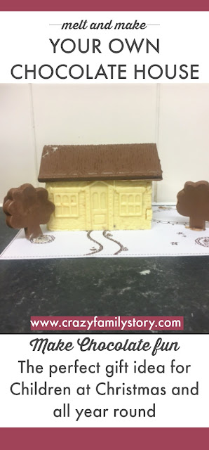 make your own chocolate house gift ideas for kids