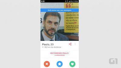 Usuário do Tinder cria perfil falso com foto de secretário de governo no ES