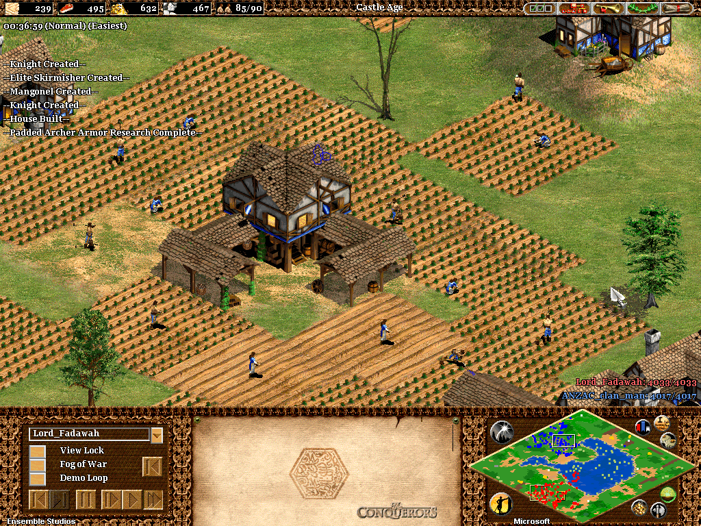 AGE OF EMPIRES 2: THE CONQUERORS EXPANSION HIGHLY