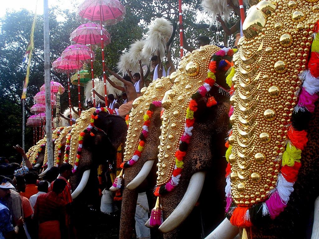 Vishu Hd Wallpapers Thrissur Pooram 2013 Festival Of Kerala Thrissur Pooram