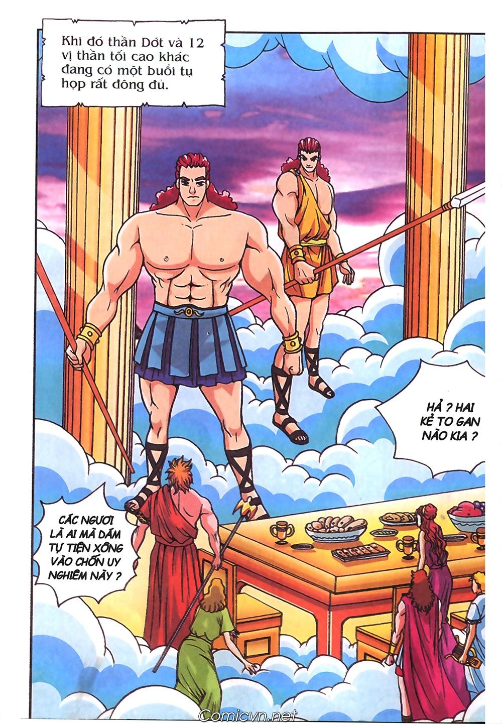 Thần Thoại Hy Lạp Màu - Chapter 57: Cuộc chiến định mệnh - Pic 49