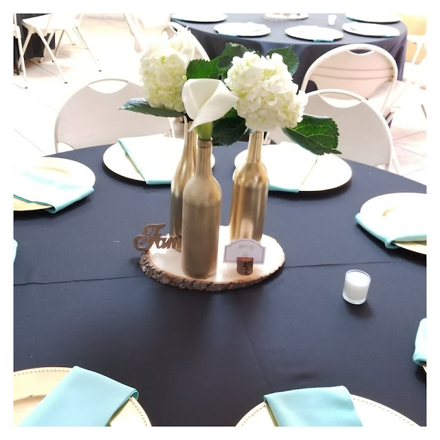 Gold and Mint Green Bridal Shower