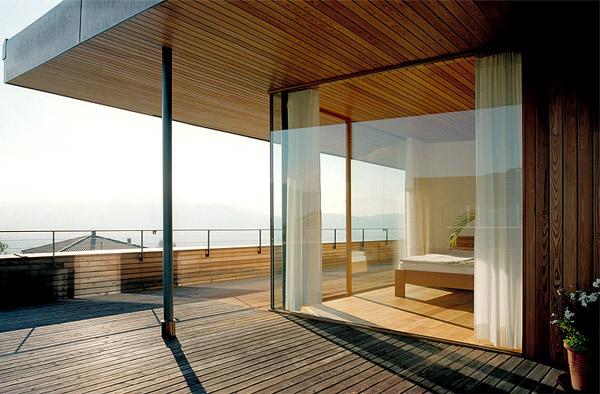 austria wooden houses wood clad inside and out modern. Black Bedroom Furniture Sets. Home Design Ideas