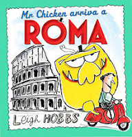 Book cover image of Mr Chicken arriva a Roma