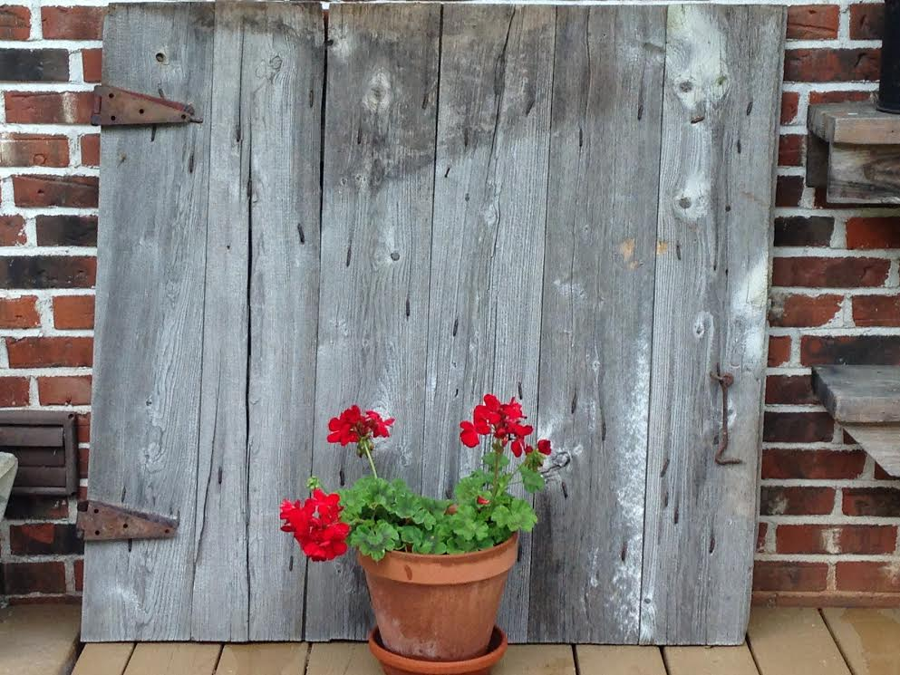 HomeSpunPrims: A BOWL OF GOODNESS & BARN DOOR