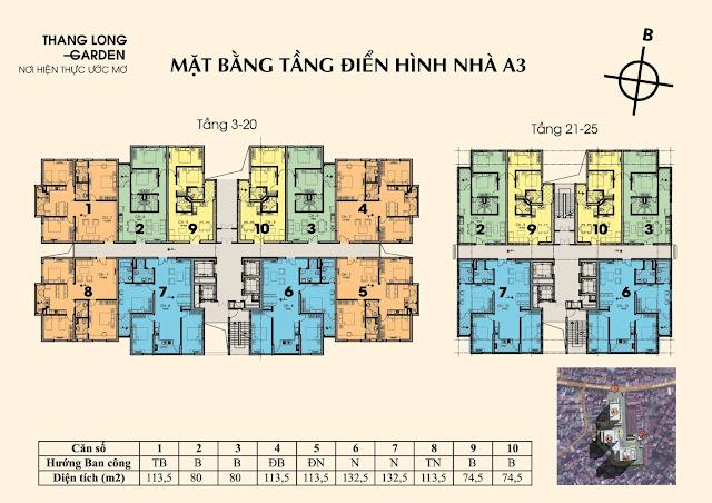 CHUNG CƯ THĂNG LONG GARDEN- 250 PHỐ MINH KHAI