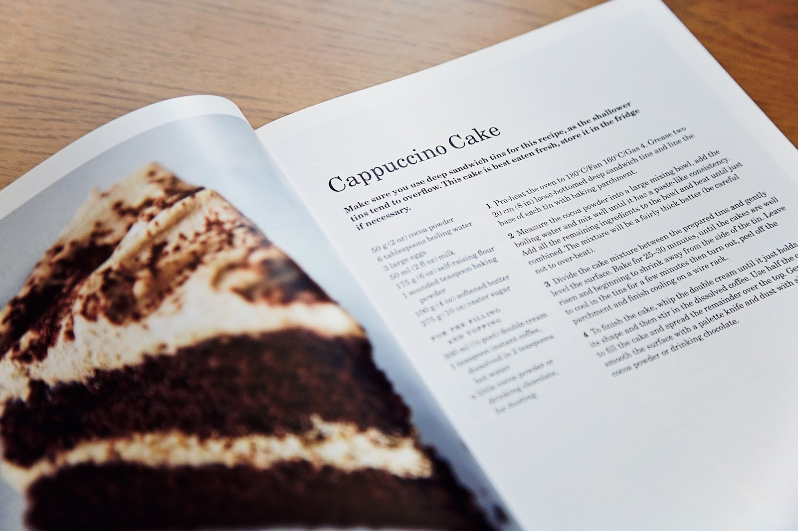 Mary Berry's Cappuccino Cake Recipe Page