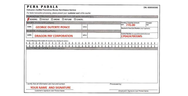 Secret2success S2S Purchase Code Cebuana Lhullier Form