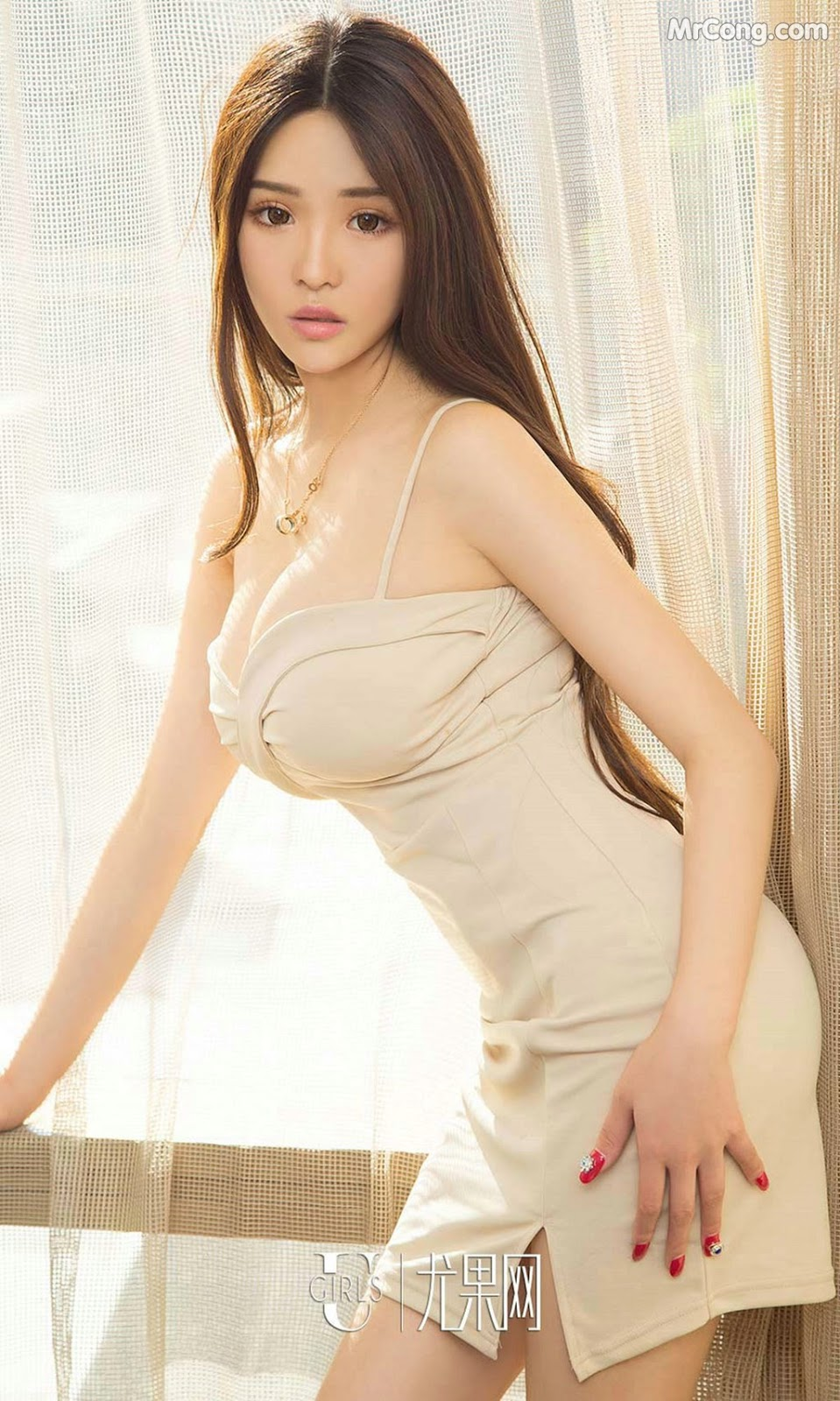Image UGIRLS-Ai-You-Wu-App-No.871-Man-Ni-Er-MrCong.com-004 in post UGIRLS – Ai You Wu App No.871: Người mẫu Man Ni Er (曼妮儿) (40 ảnh)
