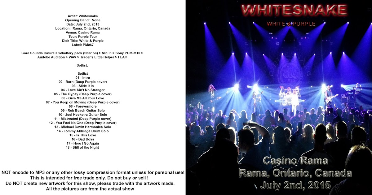 casino rama concert schedule 2015