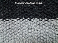 鹿子編みの編み方, how to knit