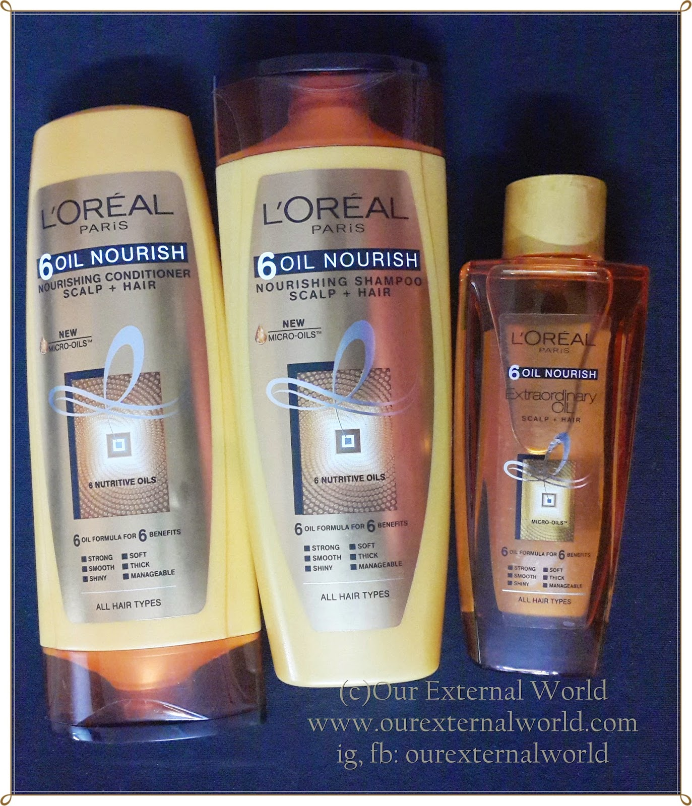 L'Oreal Paris 6 Oil Nourish Shampoo And Conditioner Review