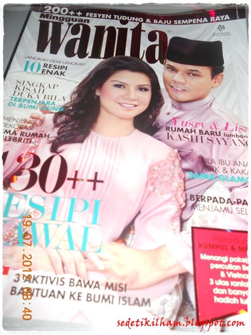 Contoh Artikel Majalah Artikel Indonesia Contoh Artikel Bagus Cover Depanpengantin Sensasi Terkini Yusry Dan Lisa Surihani