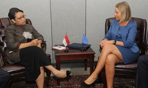 Mogherini: Eropa tidak Ingin Membentuk Tentara Sendiri