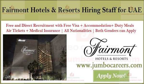 Hotel Jobs In Uae Available Job Vacancies