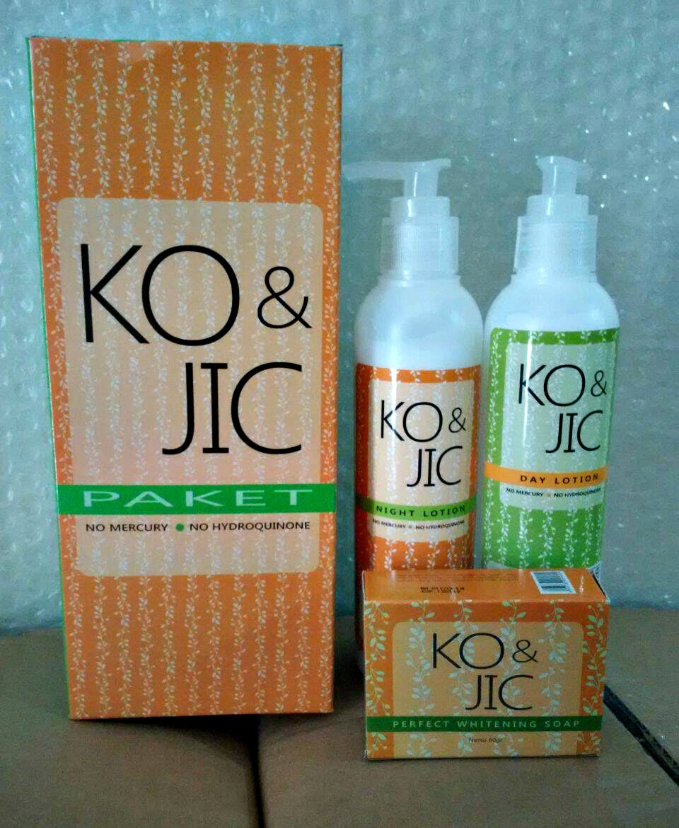 Paket Kojic BPOM Body Lotion Original