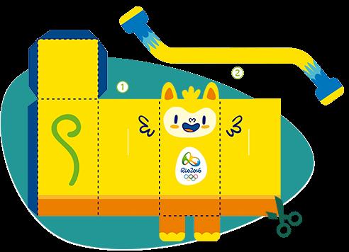 Download Topeng Olimpiade 2016 Rio Brasil