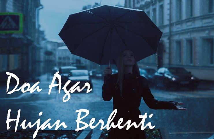 Gambar Doa Agar Hujan Berhenti Langsung Cerah Seketika