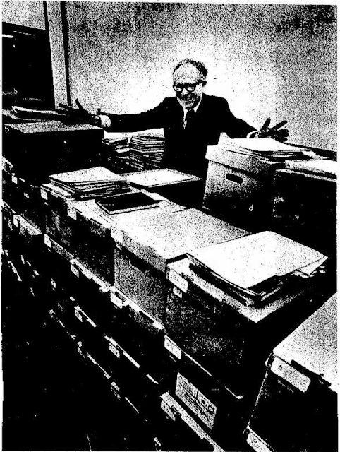 Thornton D. Shively in the Hayward, California Daily Review dated Feb 16, 1975