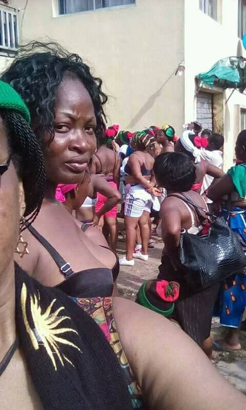 woman Naked nigerian