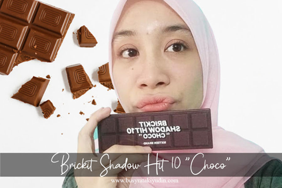 SIXTEEN BRAND BRICKIT SHADOW HIT10 (CHOCO)