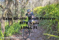 On the trail at Balm Boyette Scrub Preserve