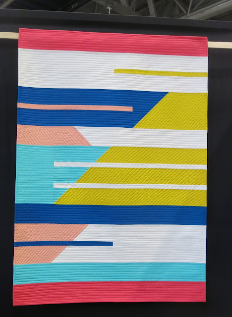 Mapache Tale by Paula Steele - Birmingham Festival of Quilts 2018