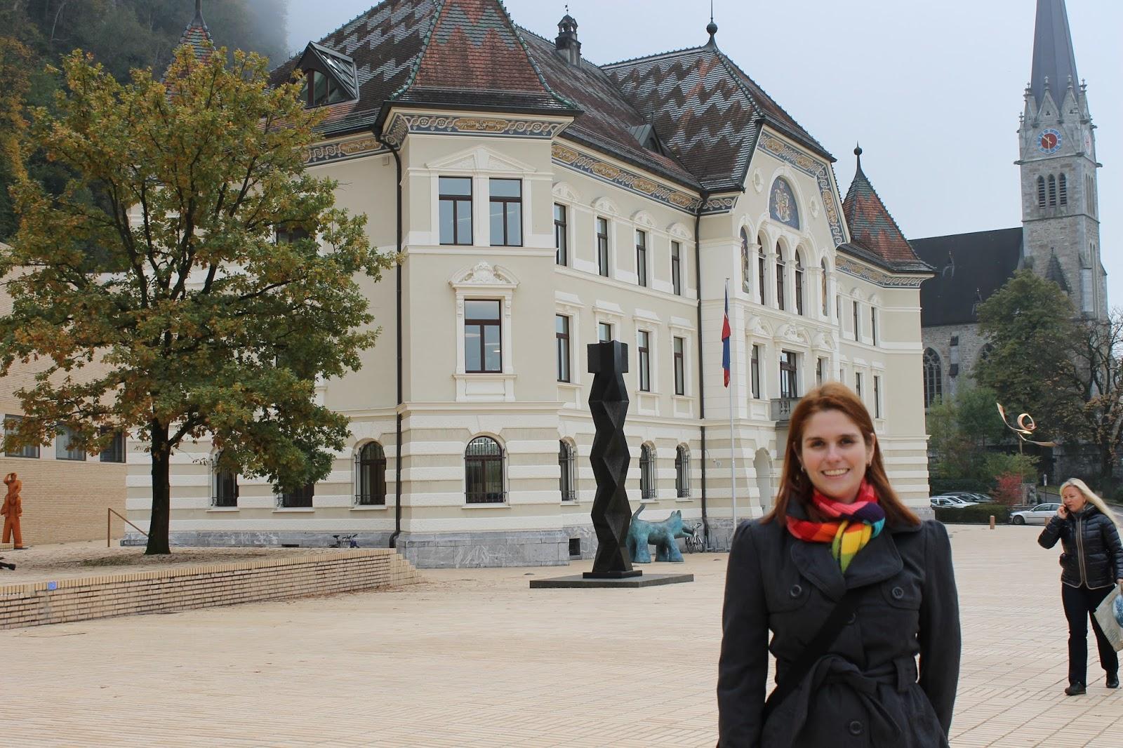 Prefeitura de Vaduz- Liechtenstein