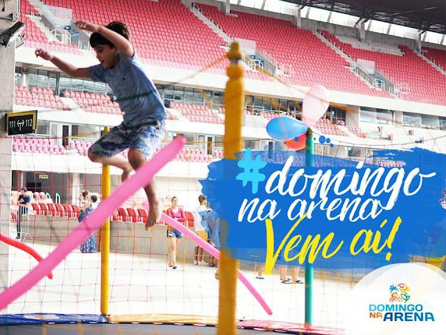 #ArenaDePernambuco #ArenaDaFamília #GovernoDePernambuco