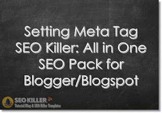 Setting Meta Tag SEO Killer 2018: All in One SEO Pack 2018