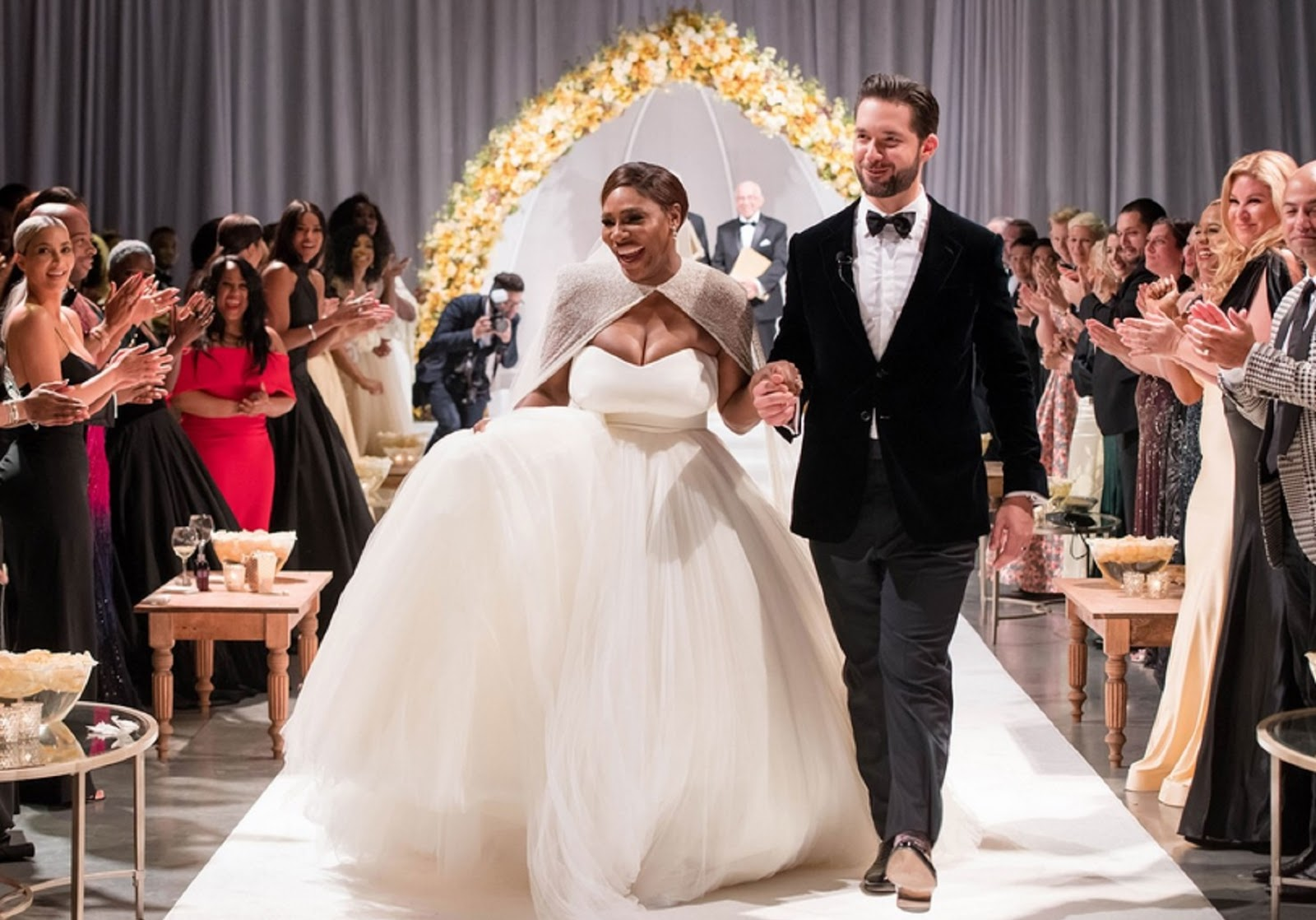SERENA WILLIAMS, ALEXIS OHANIAN WEDDING