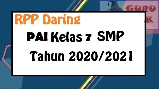 gambar rpp PAI BP kelas 7 SMP/Mts