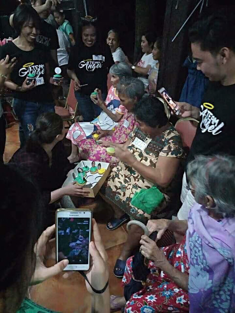 BTS: Angel Locsin Had A Great Time With Our Lolos And Lolas In Anawim Lay Missons Foundation, Inc.