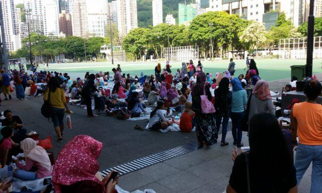 Koran Katolik Mengkritik Keras Pemerintah Hong Kong Karena Abaikan Hak - Hak PRT