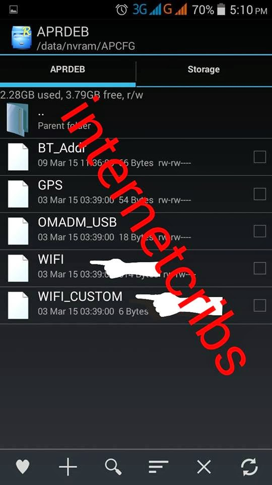 Rootexplorer Nvram Wifi