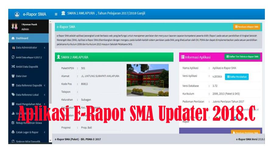 Unduh Aplikasi E-Rapor  Updater Revisi