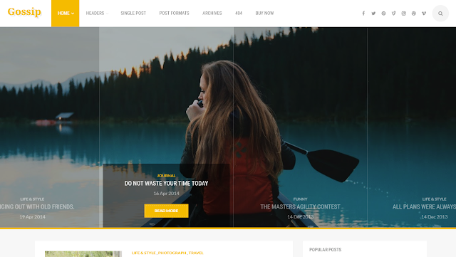 Gossip-Blogger-Template