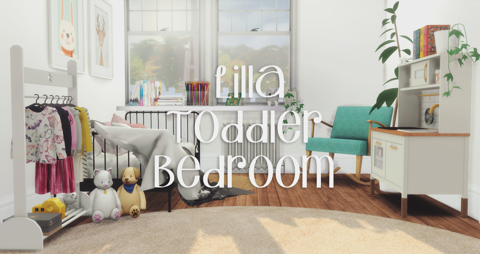 Lilla Toddler Bedroom *NEW SET*