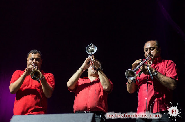 La legendaria brass band: Fanfare Ciocarlia