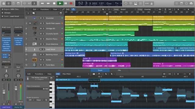 Logic Pro ,Software Pembuat Musik Digital