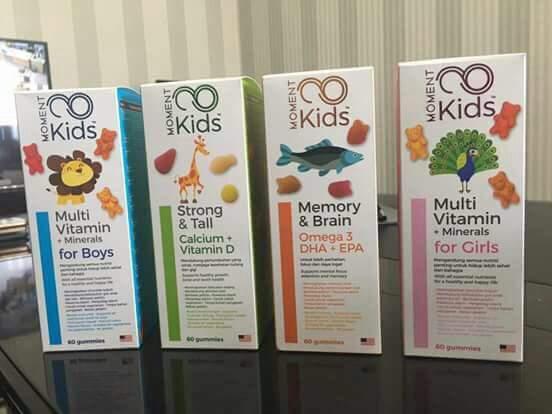 Produk Moment Kids (Multivitamin) dan Manfaat Untuk Kecerdasan Anak