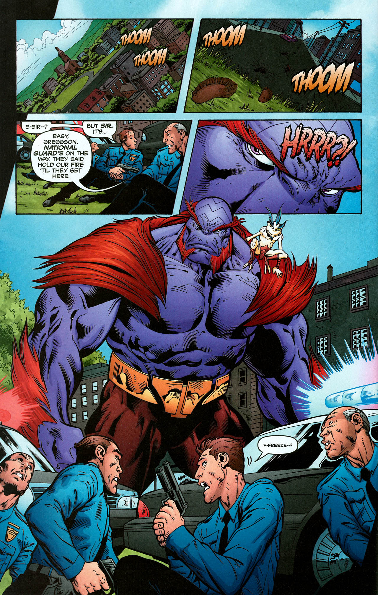 Read online Trinity (2008) comic -  Issue #2 - 21