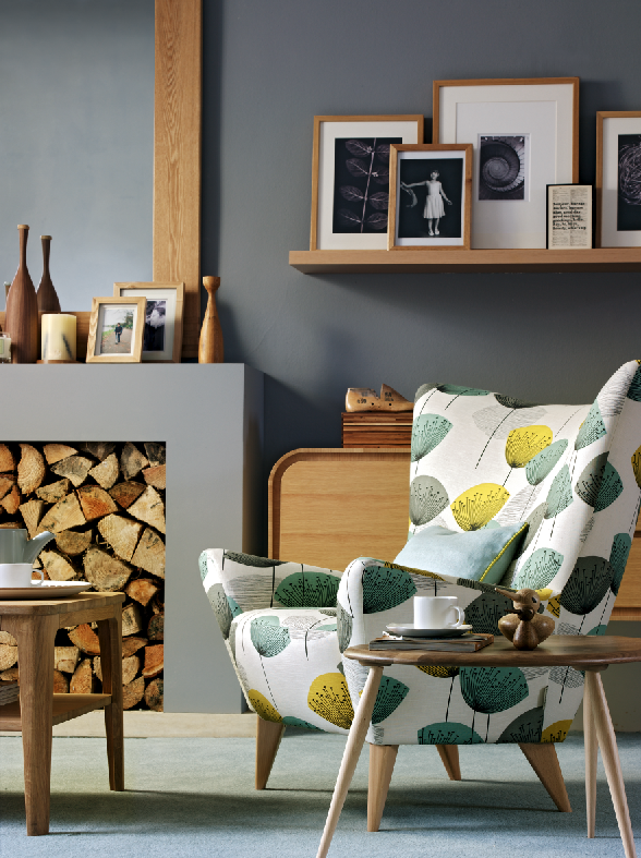 decor inspiration with retro oak furniture